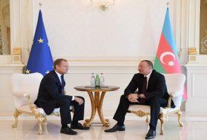 دونالد توسک رئیس شورای اتحادیه اروپا: آزربایجان به حوضه شنگن بپیوندد