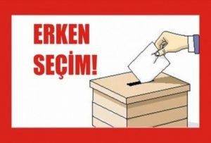 اعلام زمان انتخابات زودهنگام پارلمانی ترکیه
