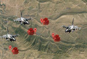 حمله دوباره ارتش ترکیه به مواضع تروریستهای پکک و تعویق سفر ظریف به آنکارا