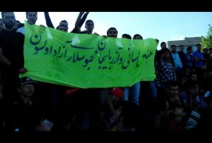 طنین شعارهای ملی در خیابانهای اردبیل پس از برد تیم شهرداری اردبیل