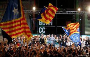 پیروزی استقلال طلبان در انتخابات کاتالونیای اسپانیا