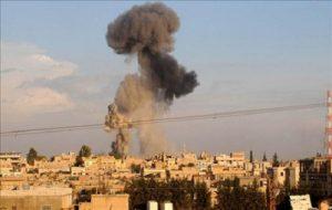اصابت چندین خمپاره در نزدیکی سفارت روسیه در دمشق