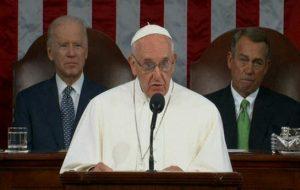 پاپ فرانسیس در کنگره آمریکا : به مجازات اعدام پایان داده شود