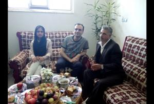 دیدار عزیز پورولی از فعالین سرشناس حرکت ملی آزربایجان با سعید متین پور