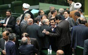 """تهدید به قتل """"وزیر خارجه و رئیس سازمان انرژی اتمی"""" ایران در مجلس ایران"""