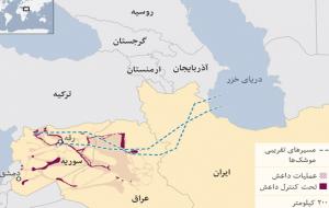 سیانان: چهار موشک روسی شلیکشده به سوریه در آزربایجان جنوبی سقوط کردهاست