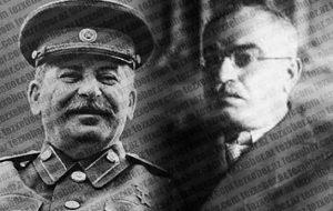 """استالین و آهنگ آزربایجانی """"پنجره دن داش گلیر"""""""