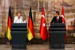 آنگلا مرکل در دیدار با مقامهای ترکیه؛ بحران از کنترل خارج شده است