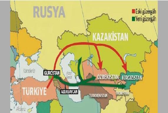 آزربایجان شمالی و کمک به ترکیه در دور زدن تحریمها