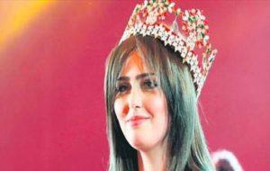 تهدید ملکه زیبایی عراق از سوی داعش