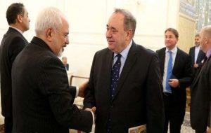 حمایت ایران از استقلال طلبان اسکاتلند از بریتانیا