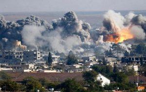 کشته و زخمی شدن ۲۵۰ غیرنظامی بر اثرحملات جنگنده های روسی در دمشق