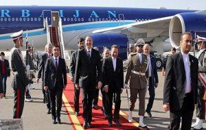 الهام علیف رئیس جمهور آزربایجان شمالی وارد تهران شد
