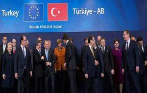 """توافقات مقدماتی ترکیه و اتحادیه اروپا: """"جلوگیری از موج پناهجویان"""" """"لغو ویزای شنگن برای شهروندان..."""
