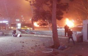 انفجار تروریستی در مرکز آنکارا