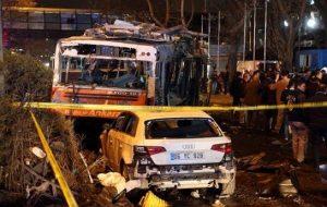 گروه تروریستی پ.ک.ک مسئولیت انفجار تروریستی آنکارا را بر عهده گرفت