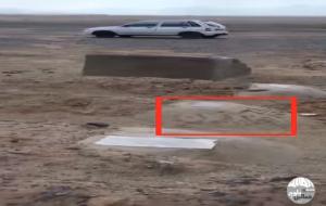 قبرستان مخصوص اعدامی ها در زاهدان +ویدیو