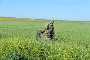 هلاکت ۱۸ تروریست در مرز سوریه/ ترکیه شمال عراق را کوبید