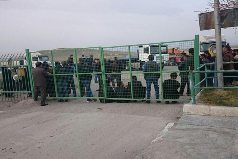 اعتراض مردم یک روستای اردبیل به بیکاری