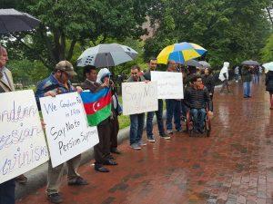 برگزاری تجمع مقابل کاخ سفید در سالروز قیام یک خرداد