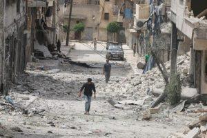 دهها تن از غیرنظامیان در غرب حلب کشته شدند