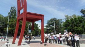 """گزارش """"جمعیت دفاع از حقوق بشر در آزربایجان ـ ارک"""" از تظاهرات آرام آزربایجانی ها..."""