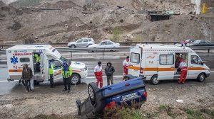 روزانه مرگ ۵۳ نفر در تصادفات جادهای در ایران