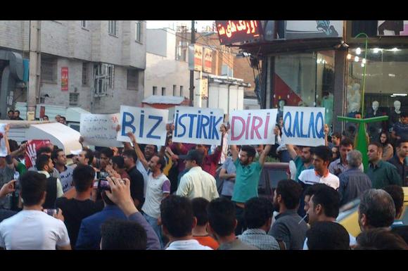 گفتگو با افشار سلیمانی در مورد اعتراضات ضدنژادپرستی در آزربایجان