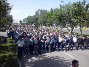 پنجمین روز اعتصاب کارکنان شرکت ایران ترانسفو زنجان – ویدئو