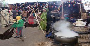 غذا های محلی مردم تورک قشقایی