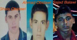 اعدام ۳ عرب اهوازی