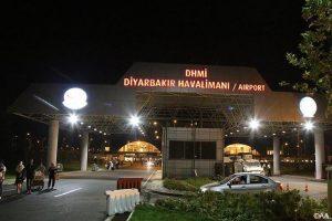 حمله راکتی تروریستهای پ.ک.ک به فرودگاه دیاربکر