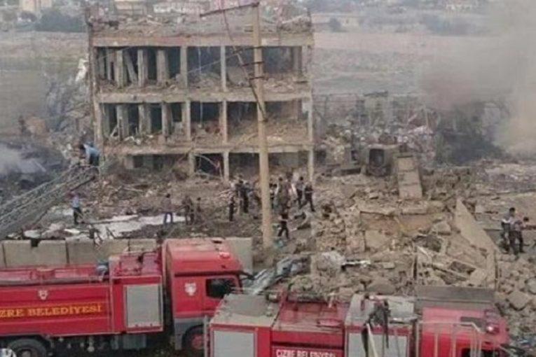 حمله تروریستی به قرارگاه پلیس در جیزره تورکیه