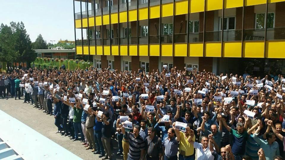 اعتصاب کارگران ترانسفو زنجان در پانزدهمین روز