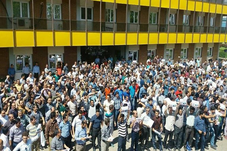 شانزدهمین روز تحصن و اعتصاب کارگران شرکت ایران ترانسفو زنجان آغاز شد