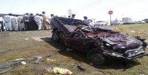 واژگونی خودرو و کشته شدن چهار شهروند بلوچ در اثر تیر اندازی نیروهای انتظامی