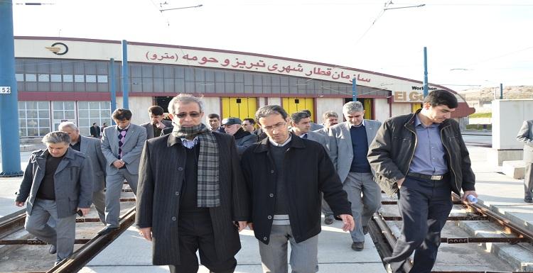 شهردار تبریز: دولت ریالی به مترو تبریز پرداخت نکرده است