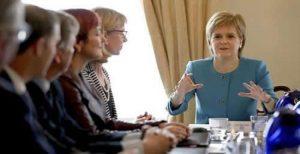 وزیر اول اسکاتلند: برگزاری دومین همهپرسی استقلال اسکاتلند بررسی میشود