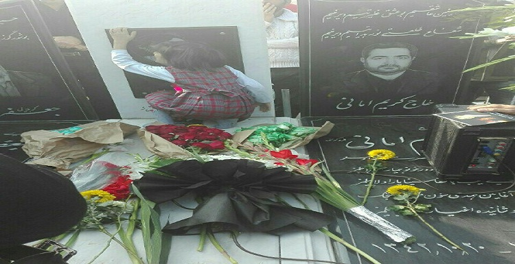 هشتمین سالگرد مراسم شهید مهندس غلامرضا امانی+ عکس و ویدیو