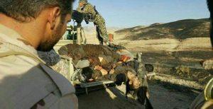 کشته شدن ۱۲ نفر از تروریستها در غرب ایران