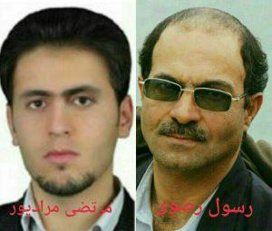 عدم انتقال رسول رضوی و مرتضی مرادپور به زندان تبریز علیرغم دستور قضایی