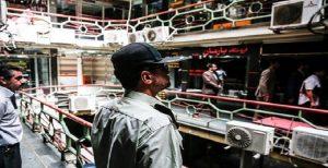 حمله نیروهای امنیتی به بازار ارز تهران