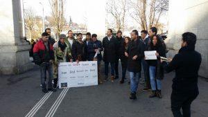 گزارش تظاهرات اعتراضی قشقایی ها در لوزرن سوییس