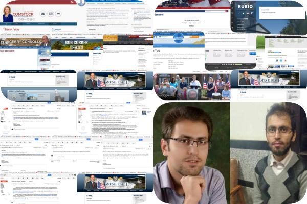 گزارش وضعیت وخیم مرتضی مرادپور به وزارت خارجه و کنگره آمریکا توسط بابک چلبیانلی