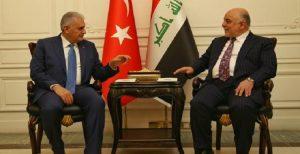 سفر نخست وزیر تورکیه به عراق