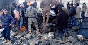 نقض آتش بس و بمباران بخشهایی از حلب توسط رژیم اسد