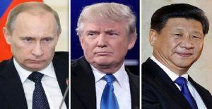 گلوبال ریسرچ: ترامپ آمریکا را برای جنگ جهانی علیه روسیه و چین آماده میکند