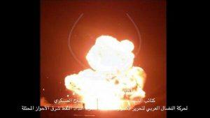 جنبش عربی آزادی بخش الاحواز دو خط لوله نفت را در الاحواز اشغالی منفجر کرد