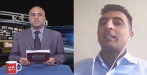 برنامه رئپورتاژ- مصاحبه با کمال آلبوشوکه فعال حقوق بشر در مورد حوادث اخیر الاحواز