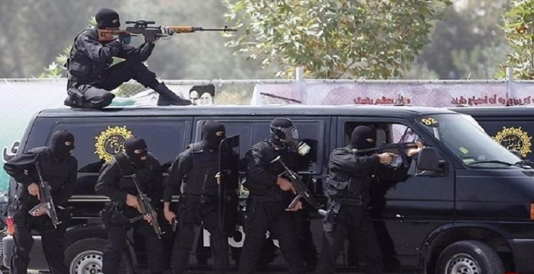 اعزام نیروی ویژه ضد شورش امام علی از تهران به الاحواز